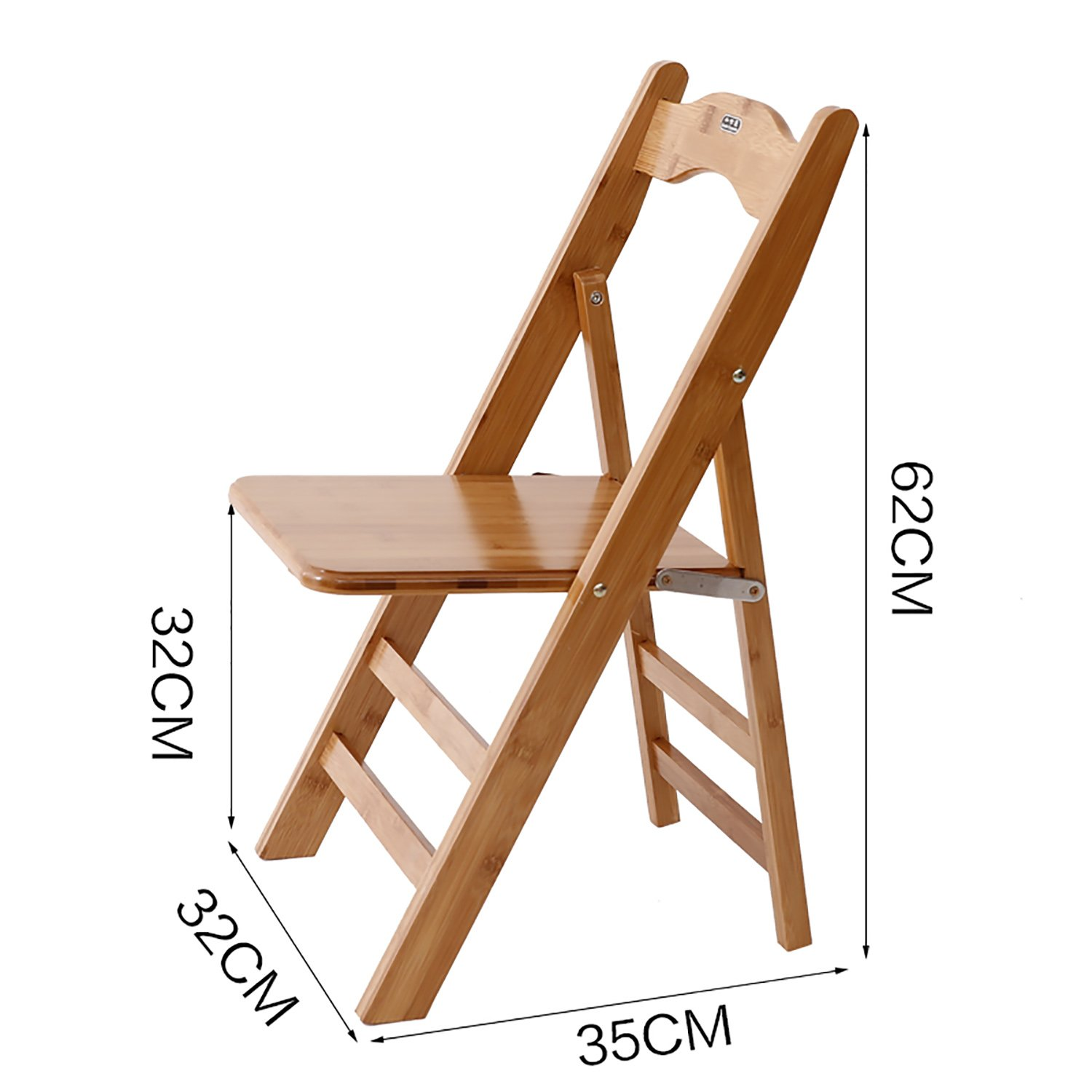 4  Chair Wood Folding Chairs Bamboo Folding Chairs Portable Bamboo Chairs (Size   3 )
