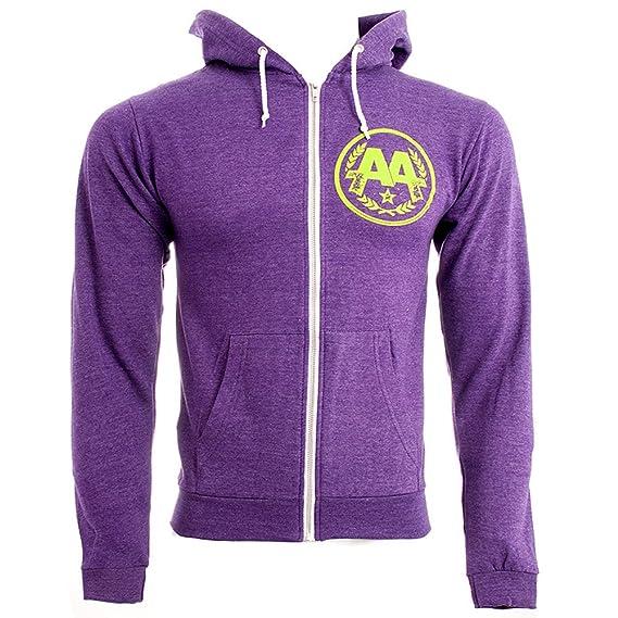 131d118e7 Asking Alexandria Eyeballs Hoodie (Purple): Amazon.co.uk: Clothing
