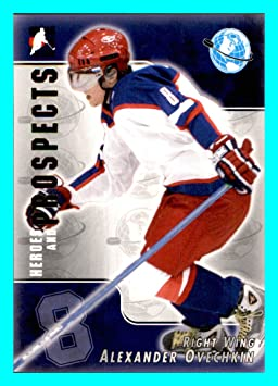 41d91c4a6 2004-05 ITG Heroes and Prospects  202 Alexander Ovechkin Alex DYNAMO ...