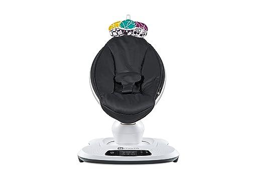 Amazon.com: 4Moms mamaRoo 4 Asiento de bebé clásico, negro ...
