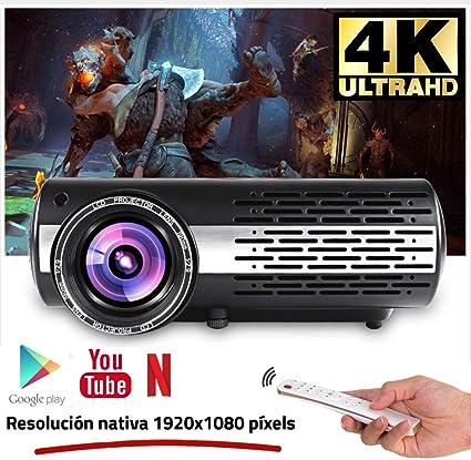 Seelumen 6500 Lúmenes Proyector Full HD 1080P (1920 x 1080 ...