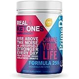 Real Ketones Lean for Life (Prime D+)- 28 Servings- Exogenous Keto BHB + MCT Drink Mix Powder Supplement- Lemon Twist…