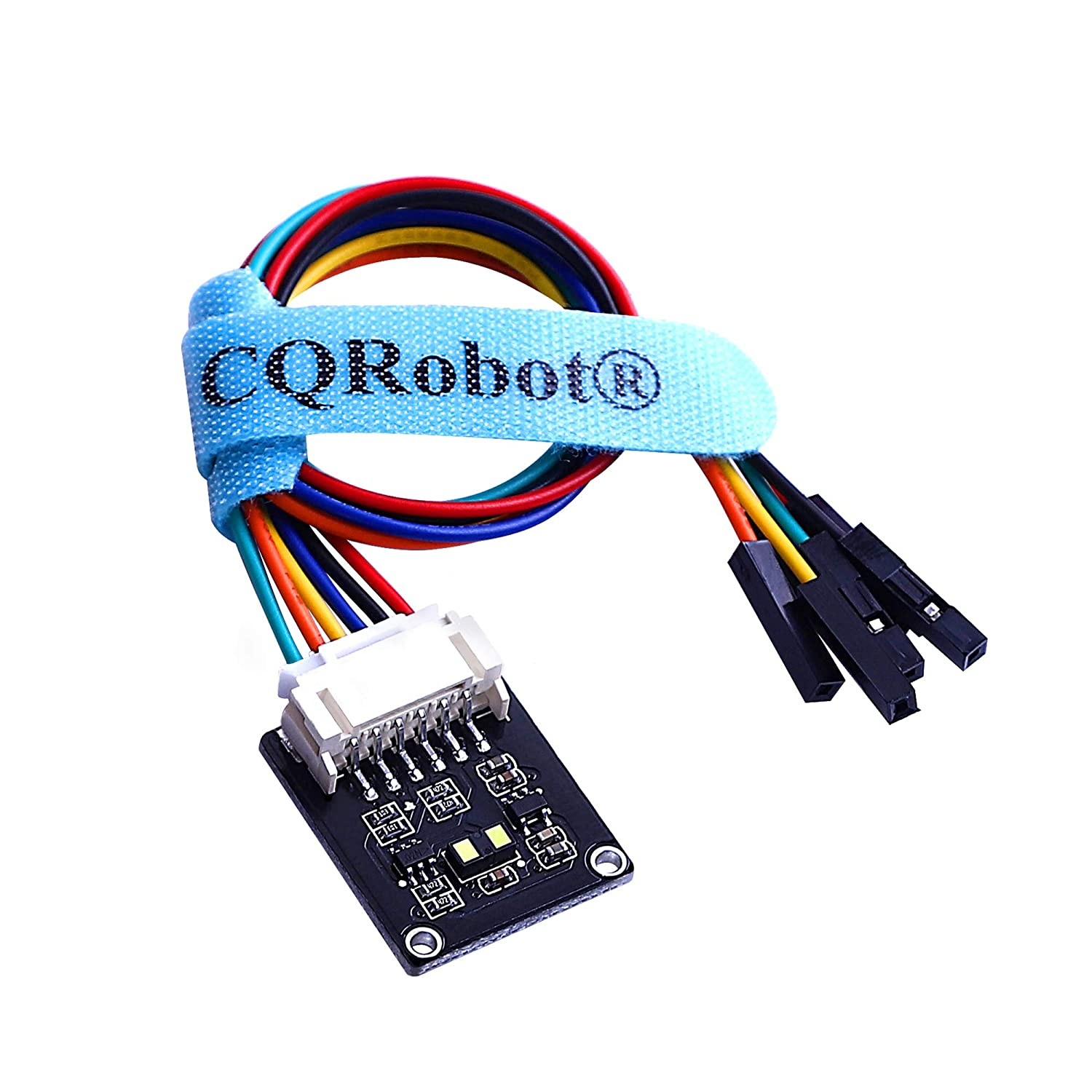 Raspberry Pi/Arduino/STM32 VL53L1X Time-of-Flight (ToF) Long Distance Ranging Sensor, 4 Meters Accuracy, 50Hz Ranging Frequency. Used in Mobile Robot, UAV, Detection Mode, Camera, Smart Home, etc.