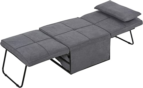 HOMCOM 4 Convertible Sofa