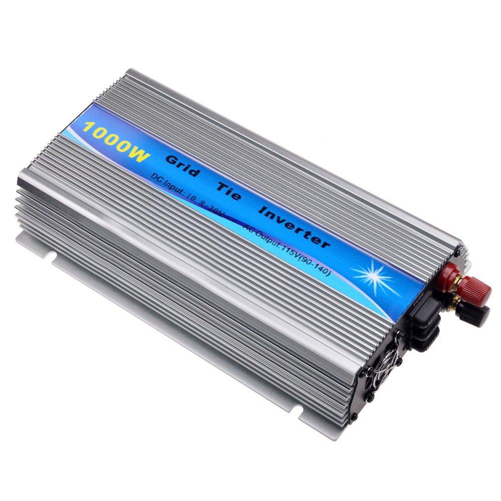 Y&H 1000W Grid Tie Inverter Stackable MPPT Pure Sine Wave DC10.8-30V Solar Input AC90-140V Output for 12V Solar Panel by Y&H (Image #9)
