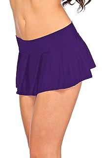 Arunta - Minifalda estilo colegiala, talla XS-M, 34-38, disponible