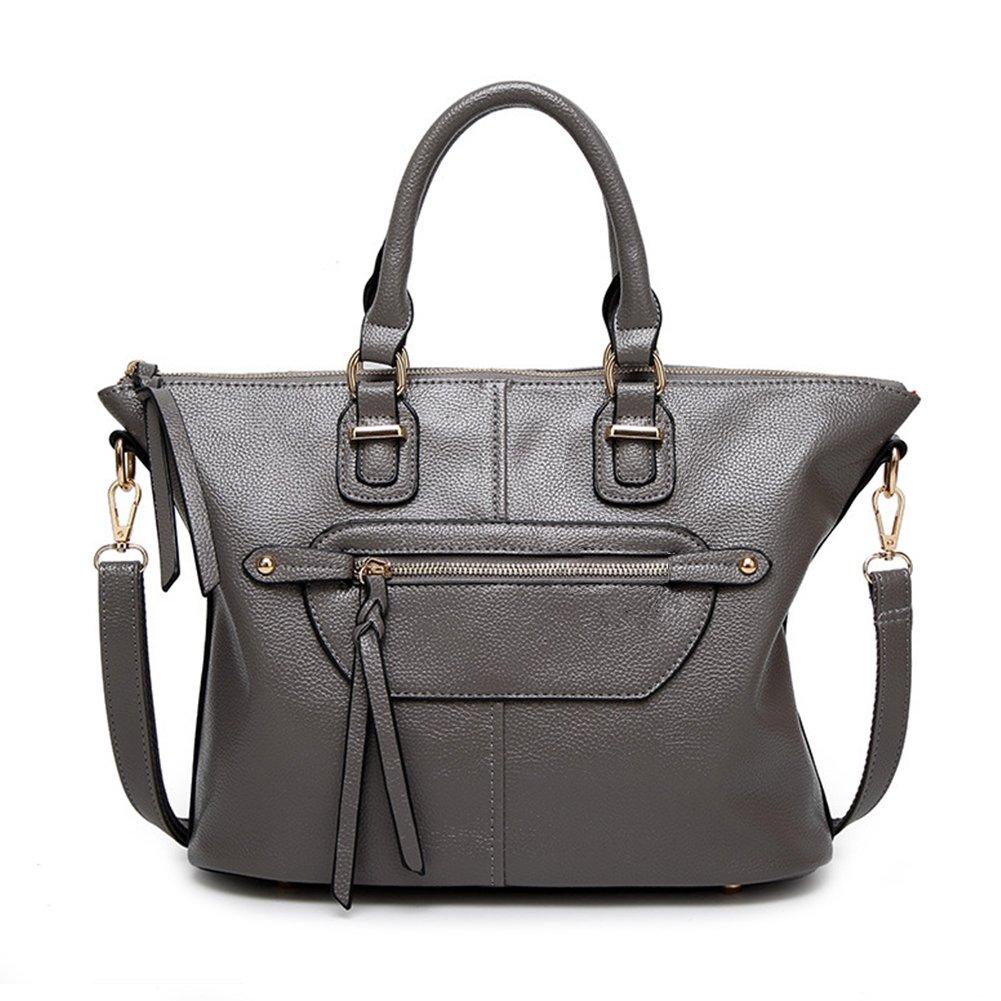 Women Leather Handbag,Anvalley Top Handle Satchel Handbag Fashion Ladies Shoulder Bag Smile Tote Purse
