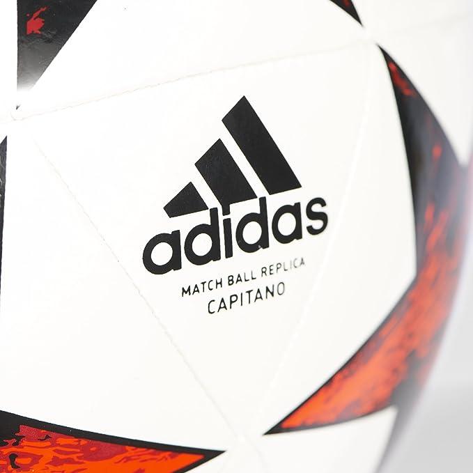 adidas Finale 17 Cap Balón, Hombre, Blanco (Blanco/Negro/rojvic ...