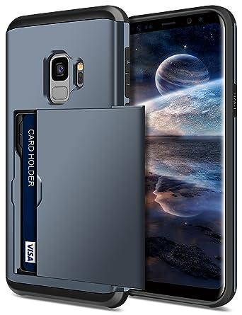 Amazon.com: Funda Galaxy S9, samonpow híbrido Samsung S9 ...
