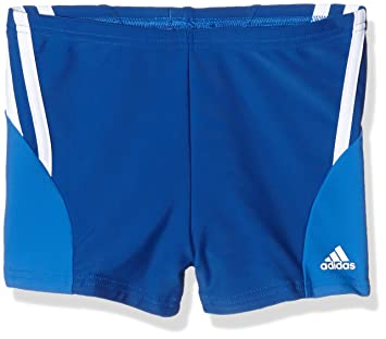 157286492c adidas Boy's Performance Boxer Swim Shorts, Blue (Croyal/Blue), 3 years