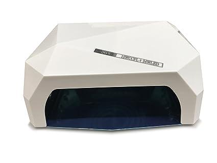 Crisnails - 36W Lámpara de Uñas Manicura CCFL CFL para Gel y Esmalte UV LED Secador