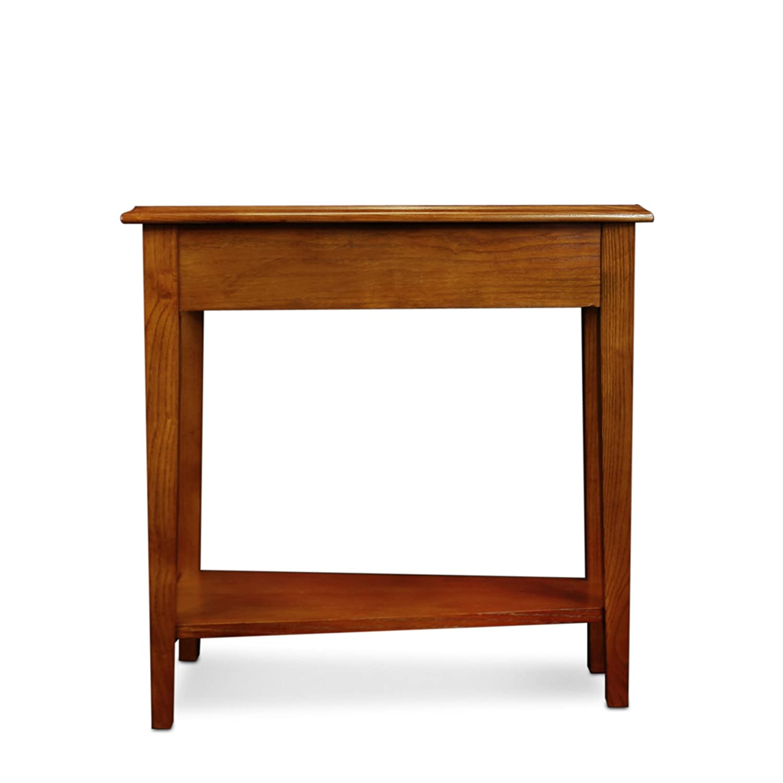 Amazon Leick Recliner Wedge End Table Medium Oak Kitchen