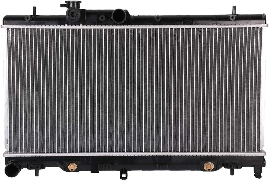 OCPTY Auto Parts Radiator Replacement for 2000 2001 2002 2003 2004 for Subaru Outback 2.5L Limited CU2331 Aluminum Radiator