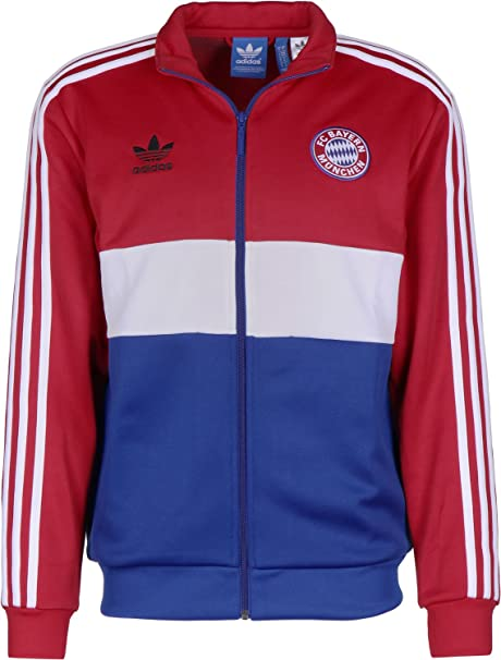 it Amazon Bayern Tempo Adidas E Tuta Giacca Da Tt Xs Sport Scarlet 08Wfq0n