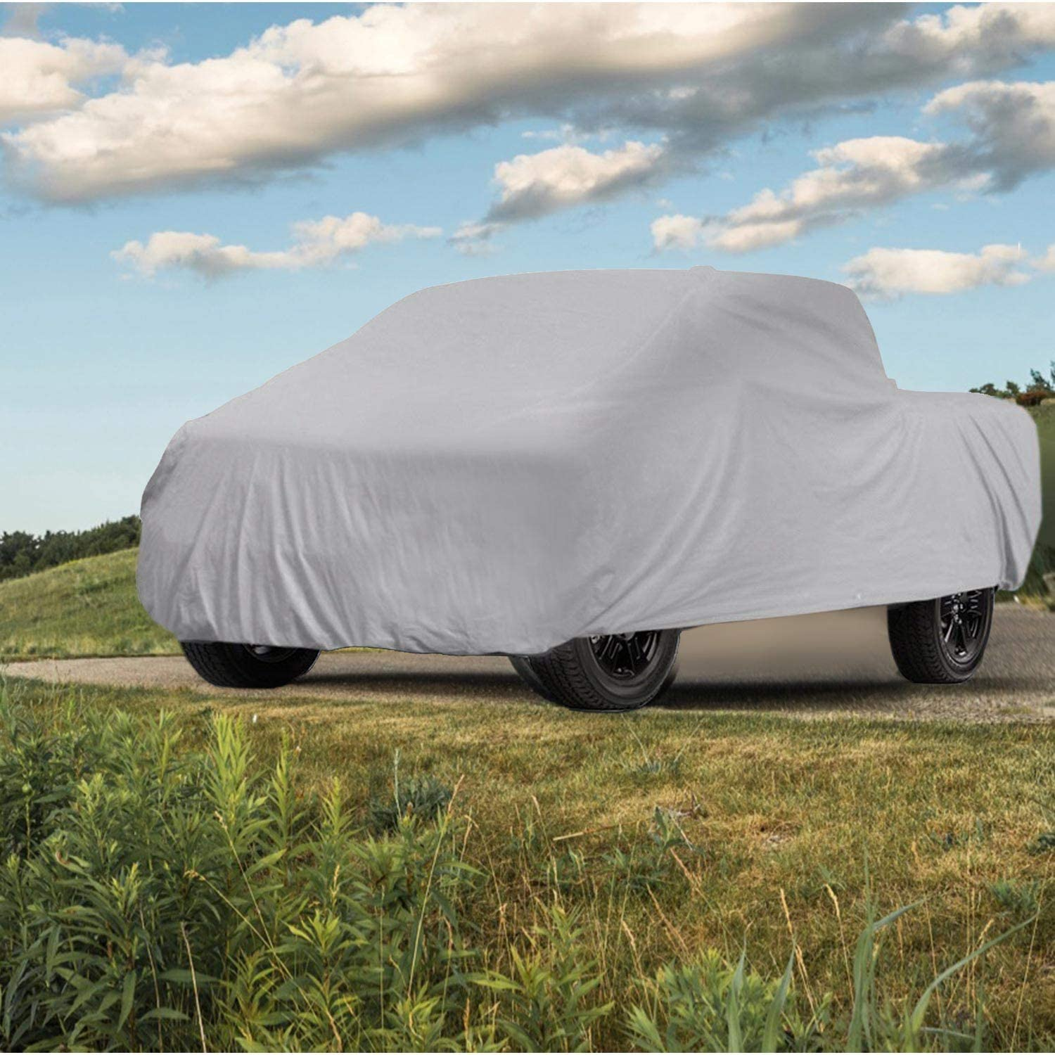 CAR DRESS Truck Cover 232 inch for Outdoor//Indoor Windproof Waterproof 5 Layers Pickup Truck Covers All Weather