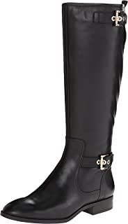 20182017 Boots Nine West Womens Bringit Wide Calf Riding Boot Factory Price