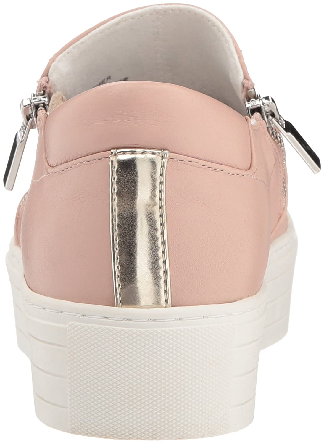 Kenneth Cole New York Women's Juneau Platform Dual Side Zippers Sneaker B077QJ3FN9 7 B(M) US|Rose