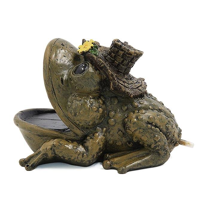 Amazon.com : eDealMax Fish Tank Decoración Bubble Maker rinoceronte Con el aire adornos de Piedra : Pet Supplies