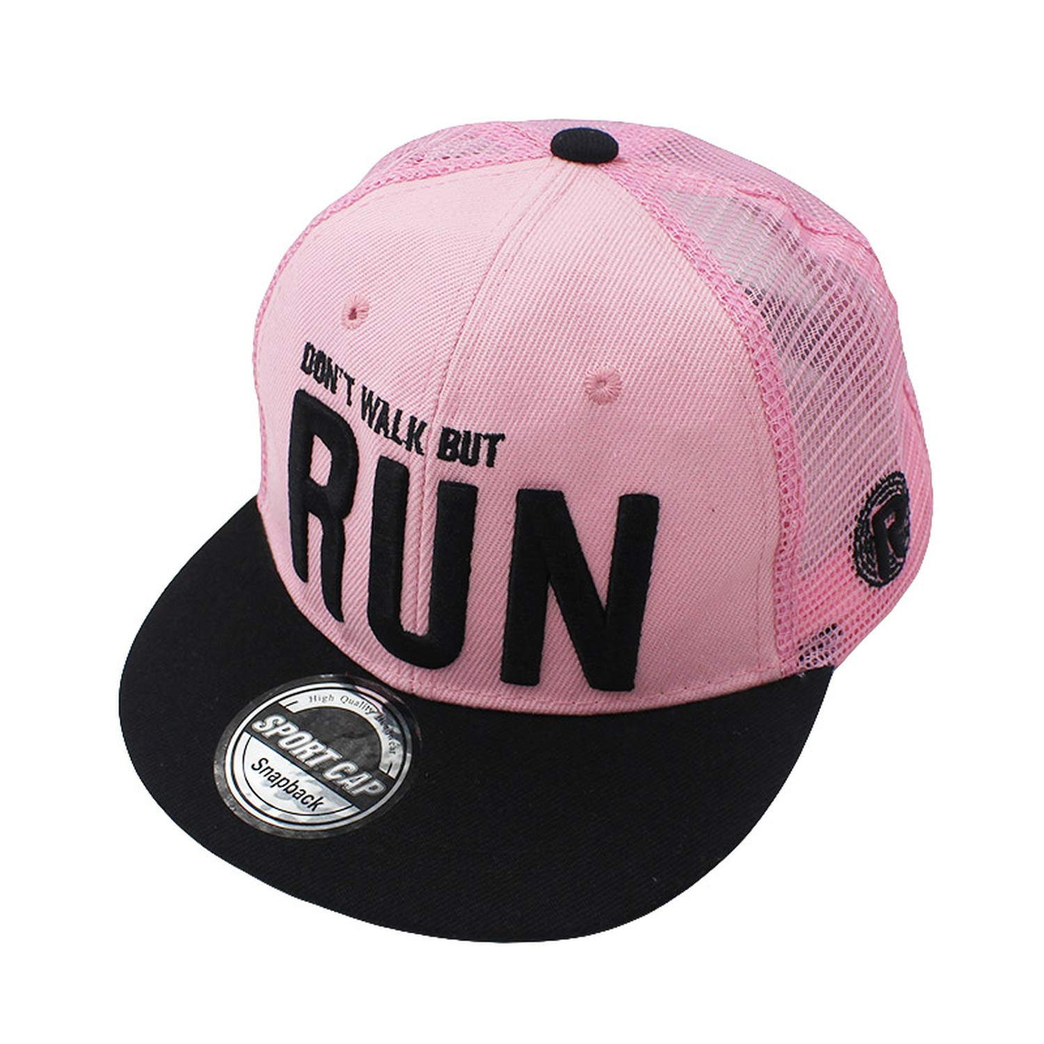 CHENTAI Boy Baseball Caps 3-8 Years Old Kid Letter Design Snapback Caps High Qaulity Adjustable Mesh caps for Girl