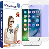 CELLBELL Anti Glare Edge to Edge Tempered Glass Screen Protector for iPhone 7(White)