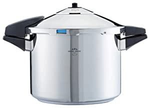 Kuhn Rikon 30902 Duromatic Pressure Cooker with Bluetooth Capabilities, 8 L, Stainless Steel