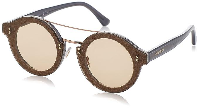 Jimmy Choo Montie/S V9 189 64 gafas de sol, Gris (Greyglttr ...