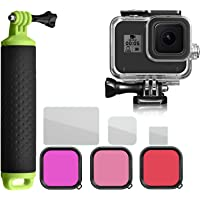 For GoPro hero 8 accessories Diving Kit 45m Waterproof Shell Diving Filter Handheld Diving Float Screen Protection…