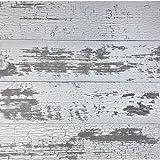 Timeline Wood Skinnies 00955 11/32 in. x 5.5 in. x 47.5 in. Wood Panels, White (6-Pack)