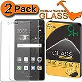 [2-Pack] Huawei P9 Lite Screen Protector, Jasinber [Tempered Glass] Screen Protector for Huawei P9 Lite with 9H Hardness/Anti-Scratch/Anti-Fingerprint