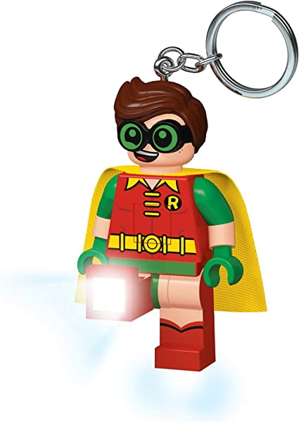 Batteries Included Ages 5+ NEW Lego LED Key Light Mini Torch Keyring