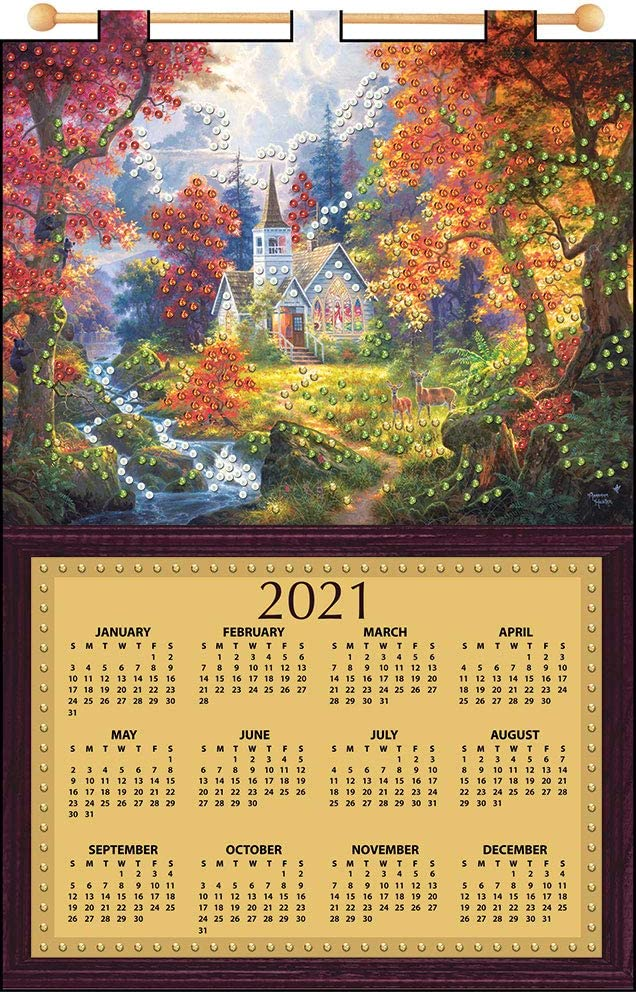 Amazon.com: Chapel of Hope 2021 Felt Calendar