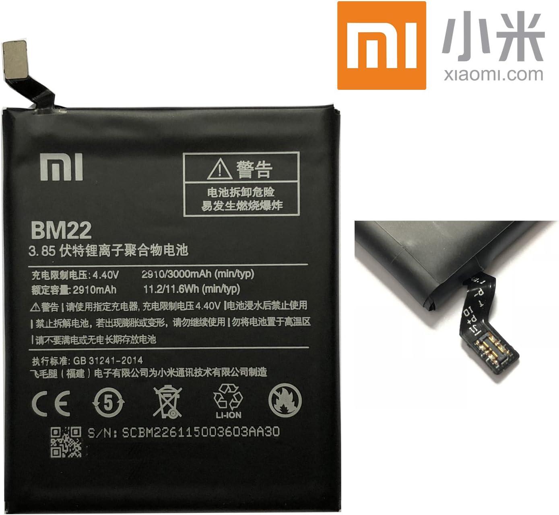 Batería Xiaomi BM22BN 223000mAh Original para Xiaomi Mi5Mi 5DE Unidades Bulk