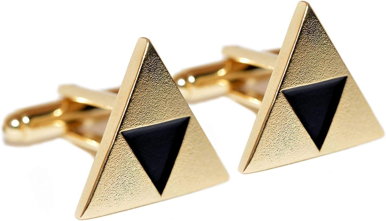 ZoS Legend of Zelda Triforce Inspirado Gemelos (Chapado en Oro): Amazon.es: Joyería