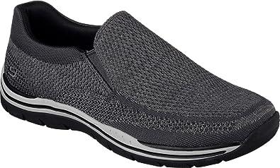 Skechers Men's Relaxed Fit Expected Gomel Slip On Sneaker, Gray, US 8. 5 WW