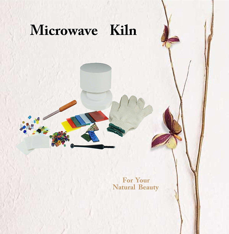 Fuseworks Beginner Fuse Pro Large Microwave Kiln For Glass Fusing /& Hobbist