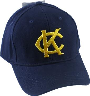4608a1d0a7a9b Cultural Exchange Kansas City Monarchs 1945 Replica Home Mens Baseball Cap  [Navy Blue - Adjusta.