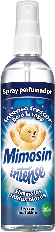 Mimosín Spray Perfumador Intense para la Ropa - 6 Recipientes de 300 ml - Total: 1800 ml