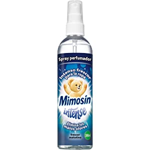 Mimosín Spray Perfumador Intense para la Ropa - 6 Recipientes de 300 ml - Total:
