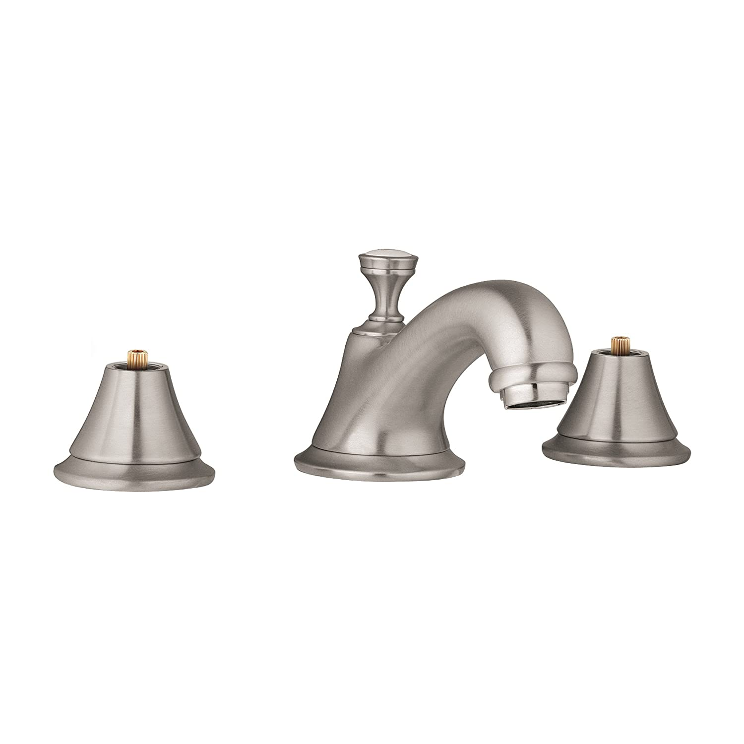 Grohe Seabury Widespread Bathroom Faucet, Brushed Nickel