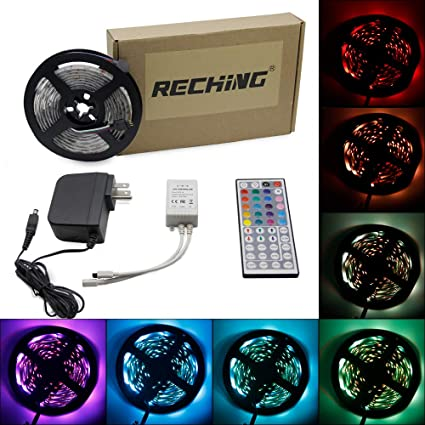 Review RECHING LED Strip Lights,5050