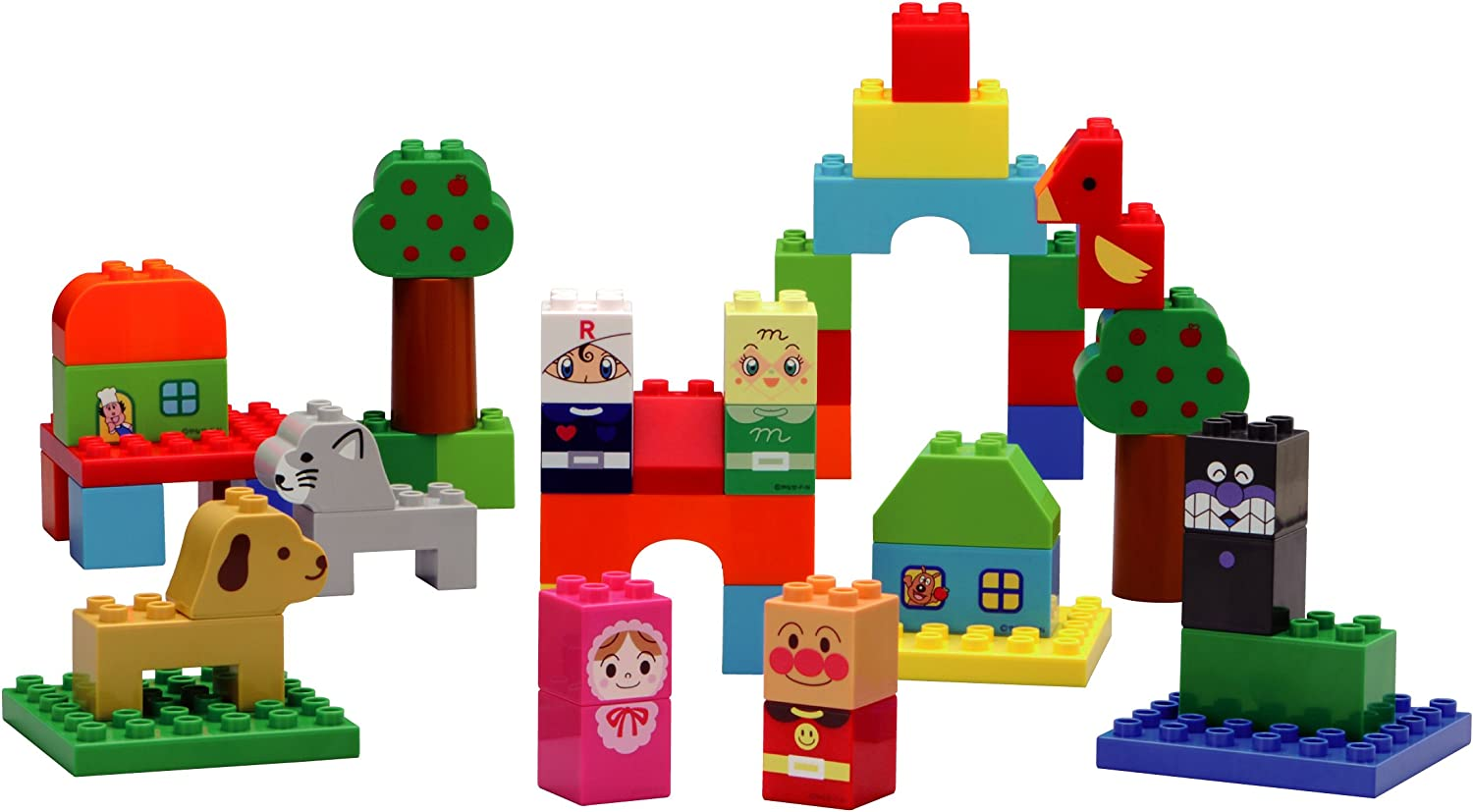 Block lab Anpanman Let/'s create Anpanman GO and Transform Vehicles Block set