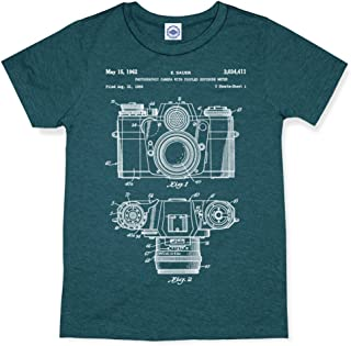 product image for Hank Player U.S.A. 35mm Camera Patent Men's T-Shirt