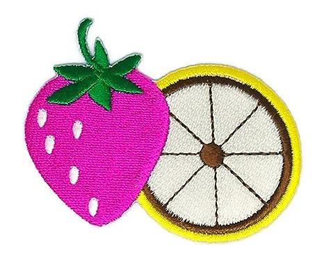 Chaleco de mujer con diseño de fresa rosa, color naranja, con dibujos animados de. Pasa ...