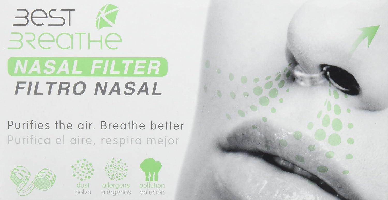 Best breathe nasenfiltersystem - Dilatador nasal best breathe con filtro (s): Amazon.es: Deportes y aire libre