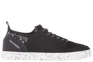 Chaussures baskets sneakers homme en cuir h205 olympia h flock Hogan E7Cr5fKqB