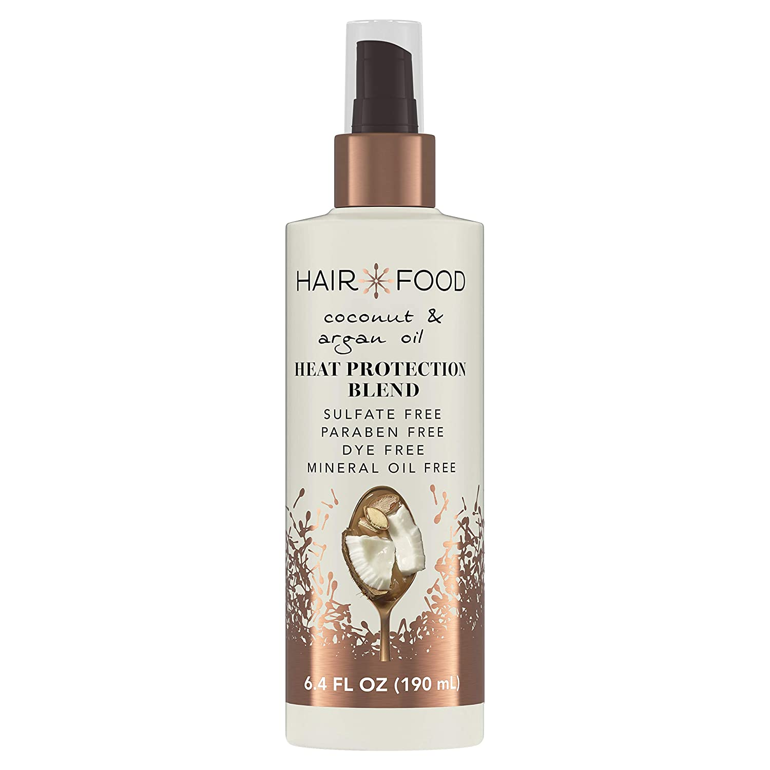 Hair Food Coconut & Argan Oil Heat Protectant Spray