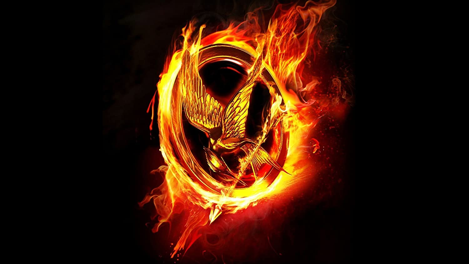 Posterhouzz Movie The Hunger Games Hbo Black Fire Flame Hd Wallpaper Background Fine Art Paper Print Poster Mov1918 Amazon In Home Kitchen