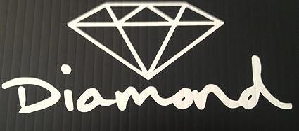 fe64e029b42b Amazon.com: Diamond Supply Co Sticker: Automotive