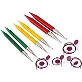 KnitPro 50617 Nadelspitzen Set Spectra Trendz Multicolor Chunky