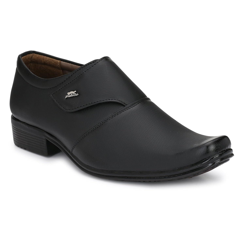 4d373dfc9f3a5 Fashion World Men's Faux Leather Black Formal Shoes (1031)/ Best Office  Shoes